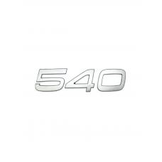 EMBLEMA 540 FH/FM CROMADO GLOBO